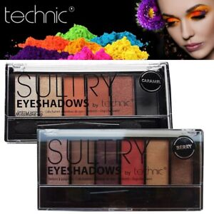 Technic Sultry EyeShadow Pressed Powder Eye Colour Stunning Palettes Shades Look