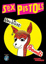 "Sex Pistols Who Killed Bambi POSTER 34"" x 24"""