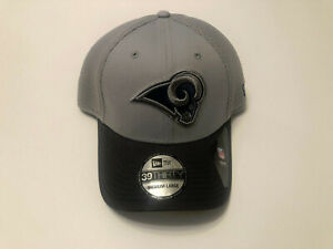 Los Angeles Rams New Era 39Thirty Gray Neo Mesh Stretch Fit Hat NFL