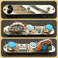 Esquire Telecaster control plate upgrade  - Arlo Cocked Wah & Eldred Tone Mod's