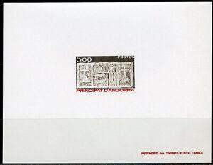 ANDORRE Épreuve de Luxe Proof Yvert 324 Écu primitif des Vallées 1983