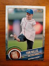 2015 Topps First Pitch Tom Willis #FP-09