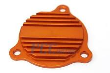 Aluminum Oil Pump Cover Orange KTM 250 350 450 500 530 SXF XCF XCW I OP08