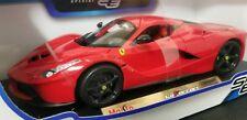 Ferrari LaFerrari Red with Black Wheels Special Edition Maisto 1:18 Diecast