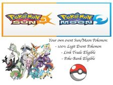 Pokémon Ultra Sun And Moon All 20th Anniversary Mythical Event Pokemon 11 Pack