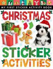My First Sticker Activity Book: Christmas Sticker Activities - BRAND NEW!