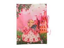 Kindergarten Einschulung Geschenk Sammelmappe DIN A3 Prinzessin Kutsche rosa
