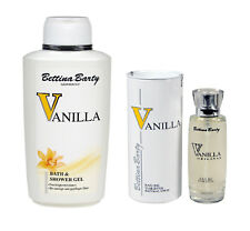 Bettina Barty Vanilla Bath and Shower Gel 500ml & EDT 50ml Sparset !