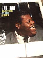 OSCAR PETERSON The Trio Vinyl Live From Chicago VERVE V68420. Vintage JAZZ 1961