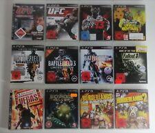 Sony Playstation PS3 - Spielepaket 12 Stück Sammlungsauflösung - FSK18