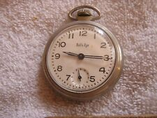 Vintage Bull's Eye Pocket Watch