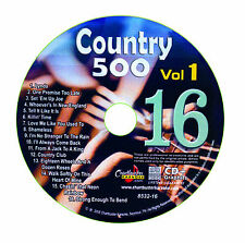 KARAOKE CHARTBUSTER CD+G COUNTRY 500 CB8532 VOL.1 DISC # 16