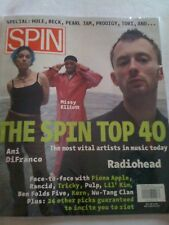 SPIN May 1998 ToRi aMoS Ani DiFranco Radio Head Missy Elliott Fiona Apple Rancid