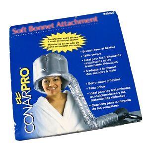 Bonnet Hair Dryer Conair Pro Soft Attachment Flexible Gray One Size 345929