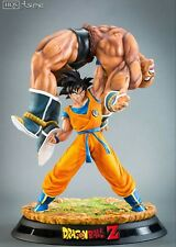 In stock  TSUME HQS DBZ DragonBall Z Goku Nappa figure Resin statue-NEW