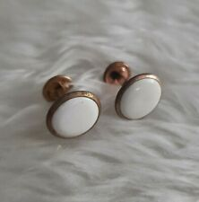 VINTAGE CUFFLINKS MARKED BRITISH MADE GILT
