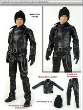 "Fashion trend Motorcycle leather 1/6 12"" Action Figure Toys clothes set hot toy"