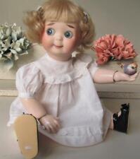 "~ JD Kestner 221 GOOGLY Antique  Doll Reproduction 13 1/2"""