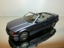 SCHABAK 1605 BMW 325 CABRIOLET - BLUEGREY METALLIC 1:24 - VERY GOOD CONDITION