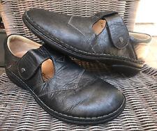 Finn Comfort Nashville Black Leather Size 41 US Women's 10-10.5 Therapeutic $350