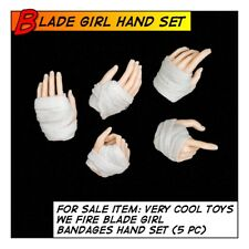 VeryCool Hot Sexy Blade Girl Bandaged Hand Set  for 1/6 12 in scale Toys