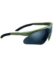Swiss Eye Raptor Sportbrille Rubber Green