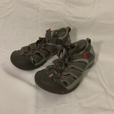 Keen Newport H2 1016282 Youth Size 4 Magnet/Tango Red Waterproof Sandal