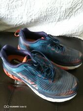 Nice! Men's Hoka One One ARAHI Running Shoes Medleval Blue/Red Orange Size 8.5