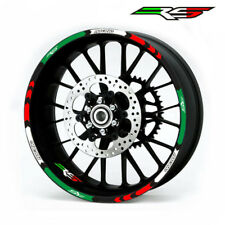 "For APRILIA RS125 RS250 RS4 RS50 CUSTOM 17"" RIM STRIPES WHEEL DECAL TAPE STICKER"