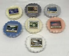 Yankee Candle Tarts: Wax Melts Lot of 7 NEW  Scents Some Spring Summer Fast Ship