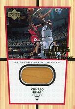 Michael Jordan 2000 UD Century Legends MJ Final Floor Jumbos #10 Last Dance Game