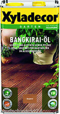 Xyladecor Bangkirai-Öl Bangkiraiöl 5 Liter Holzschutz Terrassenöl