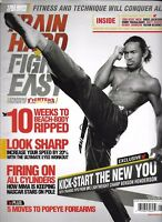 Train Hard Fight Easy Magazine Benson Henderson Forearms Workouts Training 2012