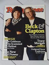 Rolling Stone Magazine 1099 Beck & Eric Clapton  March 4 2010 - R190