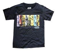 NEW! Star Wars Force Awakens Pick Side Kylo Ren BB8 Black Shirt Kids Youth Sizes
