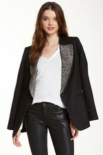 Joe's Jeans SHARLETT Rhinestone Lapel Blazer Jacket Size S
