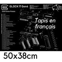 TAPIS DE NETTOYAGE GLOCK 17 GEN4 EN Français !