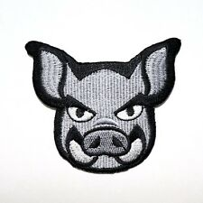Wild boar Pig Hunting Sports Rock Punk Motorcycles Bag Shirt Backpack Iron Patch