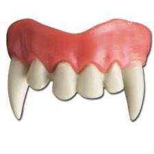 Dentier de vampire partie du haut dents du milieu deguisement costume theatre