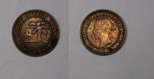 1871 PRINCE EDWARD ISLAND CENT #453-14