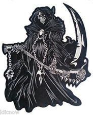 "Reaper Embroidered Back Patch 29CM x 30CM (10 1/2"" x 12"") Sew On"