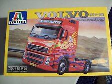 Italeri 1/24 Scale Volvo Fh-16 Globetrotter Truck Cab Model Plastic Kit 3821