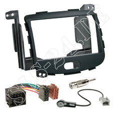 Doble 2 din autoradio ISO adaptador radio diafragma marco kit de integracion para Hyundai i10