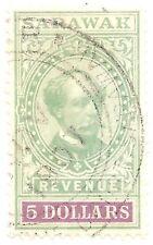Sarawak 1899 $5.00 revenue