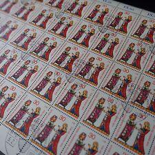 FEUILLE SHEET BOGEN DEUTSCHLAND BERLIN Nr.331 x50 1970 NEUF 1. TAG FIRST DAY