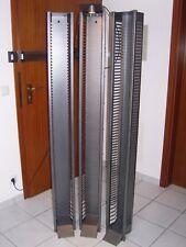 CD - St. 3x Ständer/Regal/Aufbewahrung Metal m. Lampe - 185 einzel -15 doppel CD