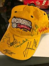 2006 The Memorial hat signed by 9 golfers