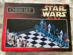 Star Wars Chess Set Character Games Ltd 80s 90s Gadget Shop Collectable