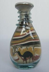 Sand Art Bottle • Desert · Camel
