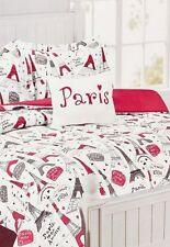 3 Pieces Nanette Lepore Paris Amour Twin Reversible Comforter Bedding Set+ Bonus